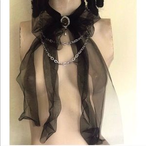 Tulle Bow Choker